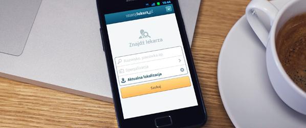 ZnanyLekarz.pl – znajdź dobrego lekarza i umów się na wizytę na pomocą smartfona