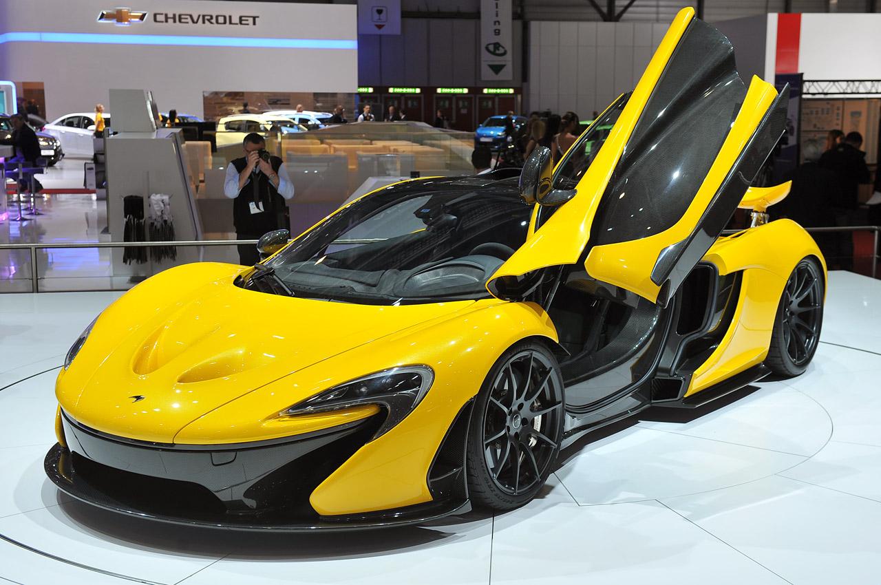 McLaren P1 Geneva Motor Show 2013