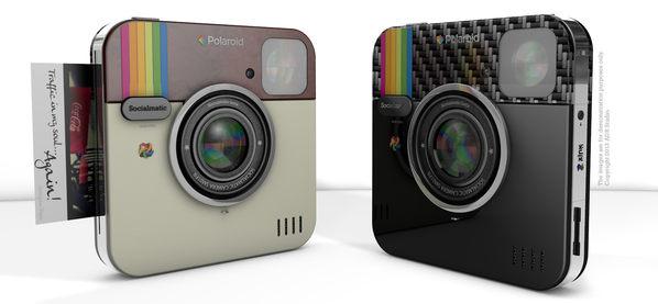 Polaroid wyprodukuje Socialmatic. Instagram ożywa!