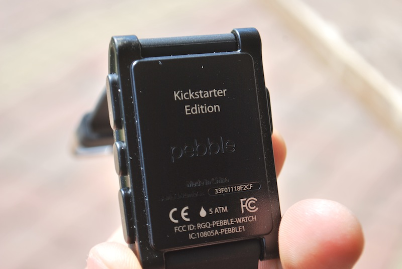 6. Pebble - Kickstarter edition