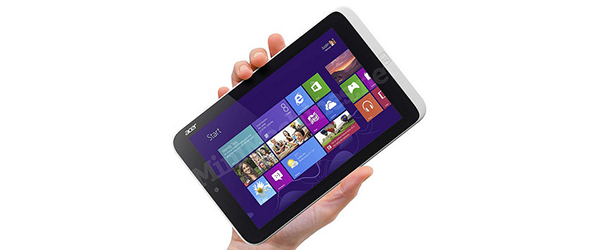 Acer Iconia W3 oficjalnie – najtańszy i najmniejszy tablet z Windows 8