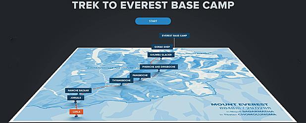 Everest: Rivers of Ice. Góry dedykowane Internet Explorerowi