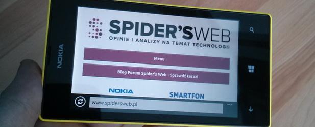 Nokia Lumia 520 – tak powinien działać budżetowy smartfon. Recenzja Spider's Web