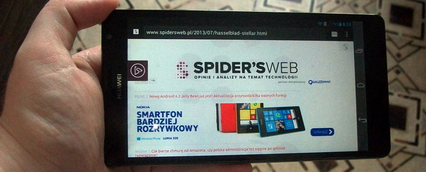 Huawei Ascend Mate – to nie smartfon, to potwór – recenzja Spider's Web