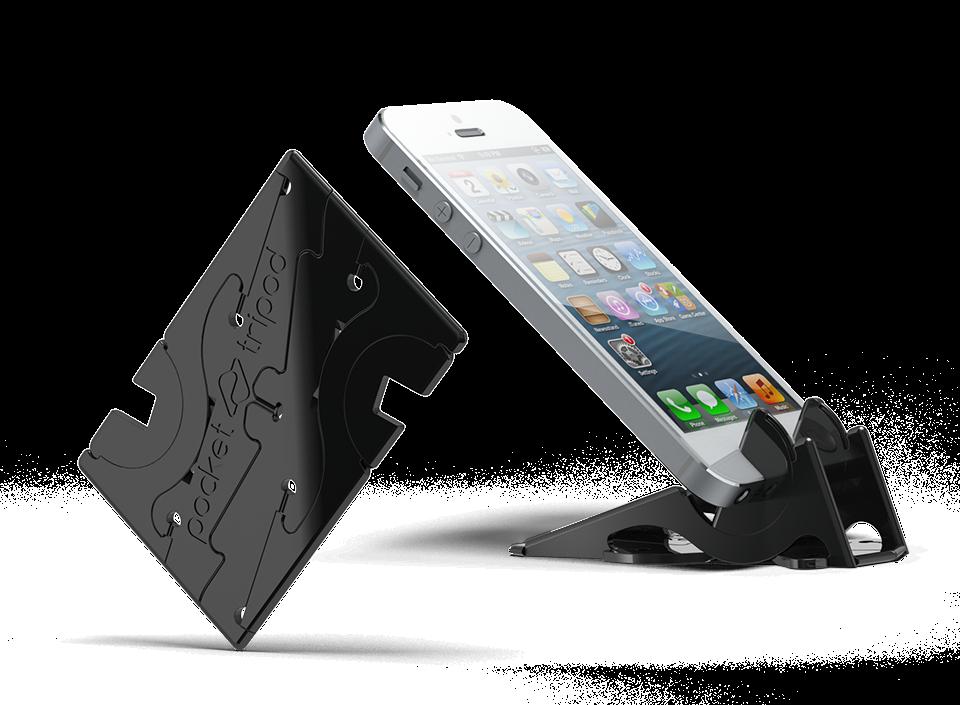 Statyw do iPhone'a, który zmieścisz w portfelu. Zauroczył samego Steve'a Wozniaka