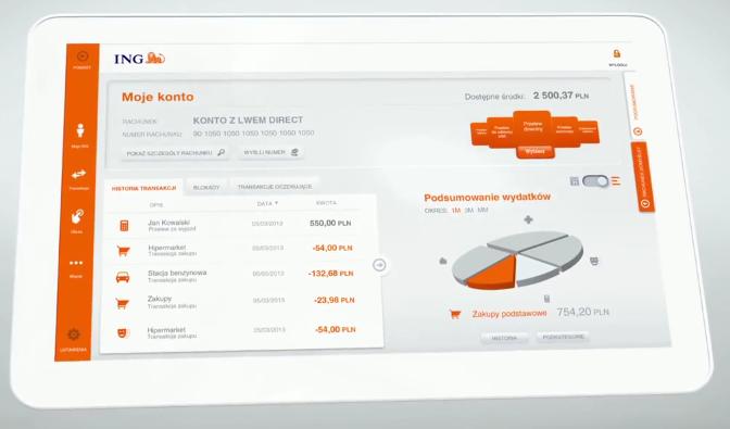ING BankMobile HD – aplikacja tak dobra, że nie widzę potrzeby korzystania z witryny mojego banku