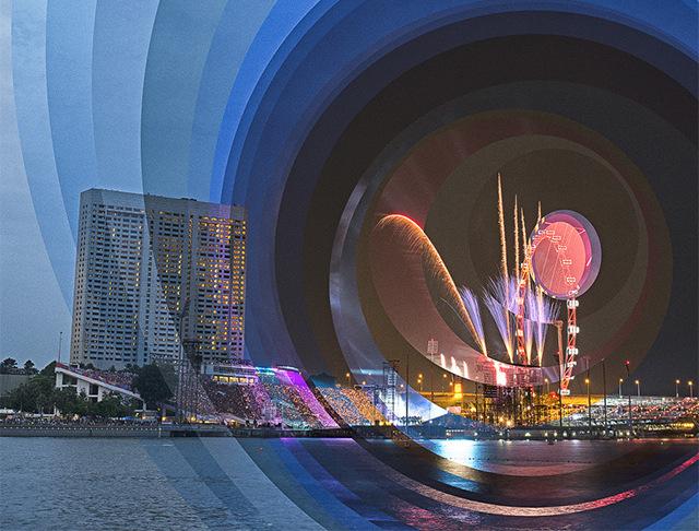 Upływ czasu pokazany na niesamowitych fotograficznych kolażach