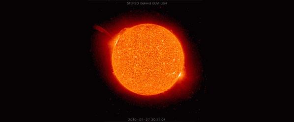 Burze słoneczne, czyli czym nas straszą w mediach