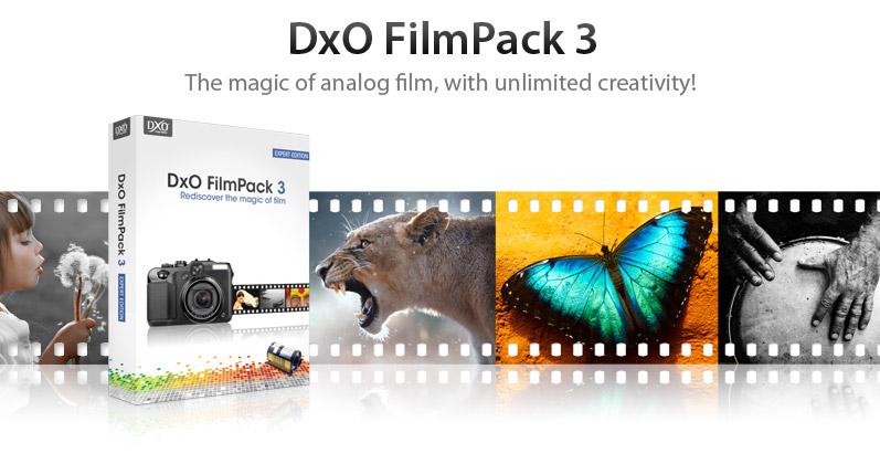 DxO FilmPack 3 z darmową licencją. Wystarczy zarejestrować się do 31 października