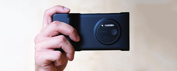 Camera Grip – świetny dodatek do Lumii 1020 – recenzja Spider's Web