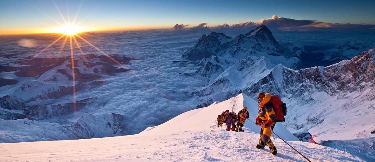 Imponujący film poklatkowy z Mount Everest