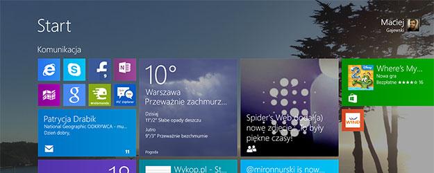 Doba z Windows 8.1 w trybie ekstremalnym – pierwsze wrażenia Spider's Web