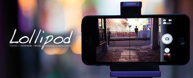 Lollipod – czy to pierwszy sensowny statyw do smartfona?