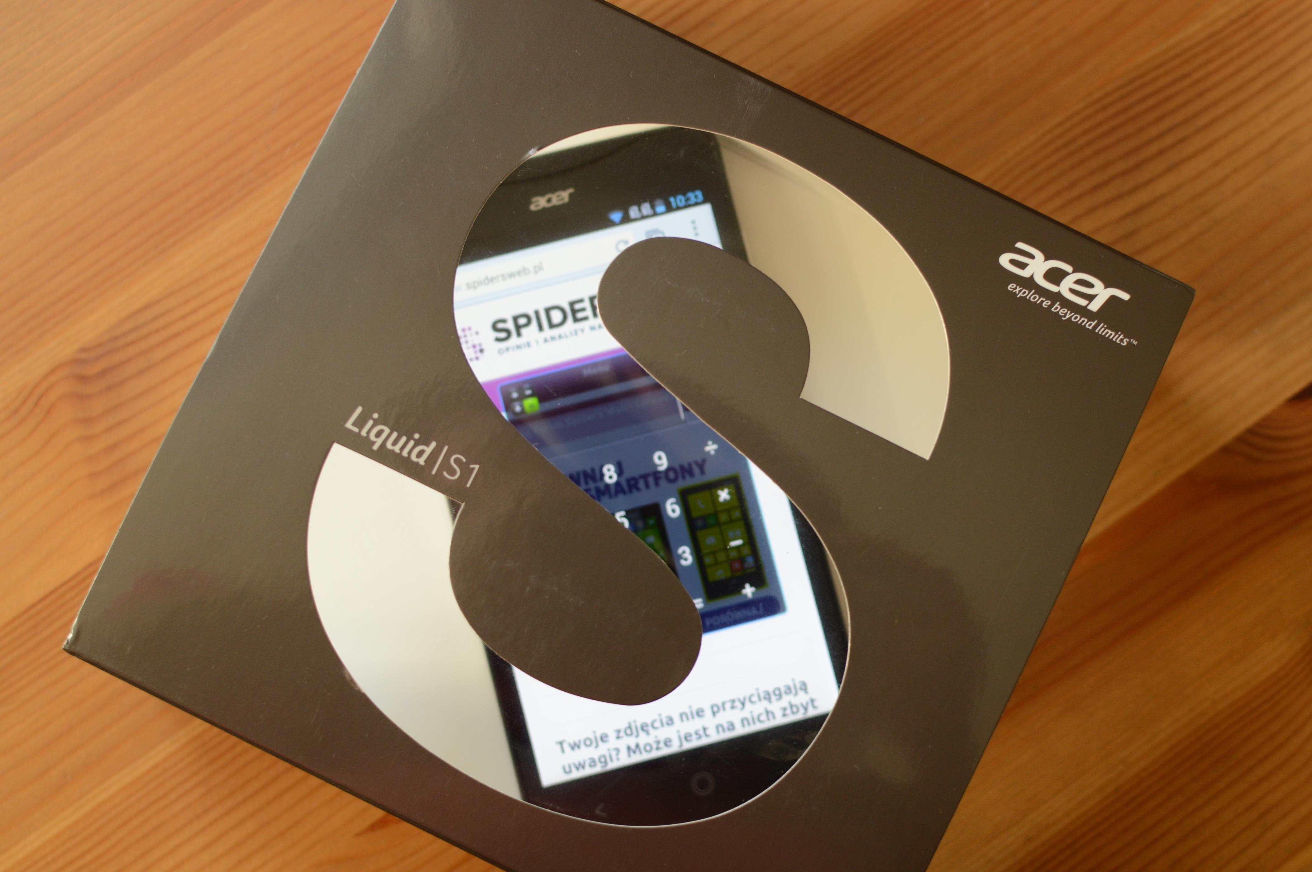 Acer Liquid S1 w naszych rękach – pierwsze wrażenia Spider's Web