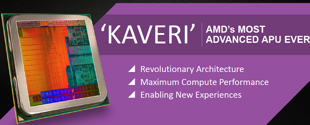 AMD Kaveri zbliża pecety do Playstation 4