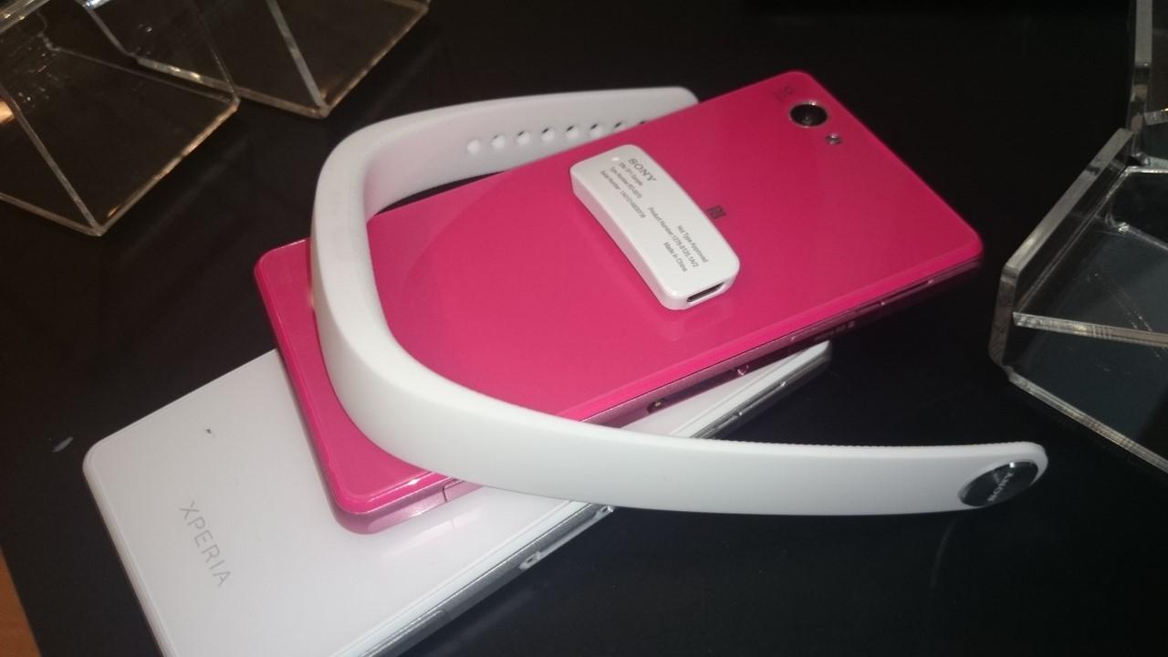 Sony to nie tylko smartfony, ale też zupełnie nowa opaska na rękę SmartBand
