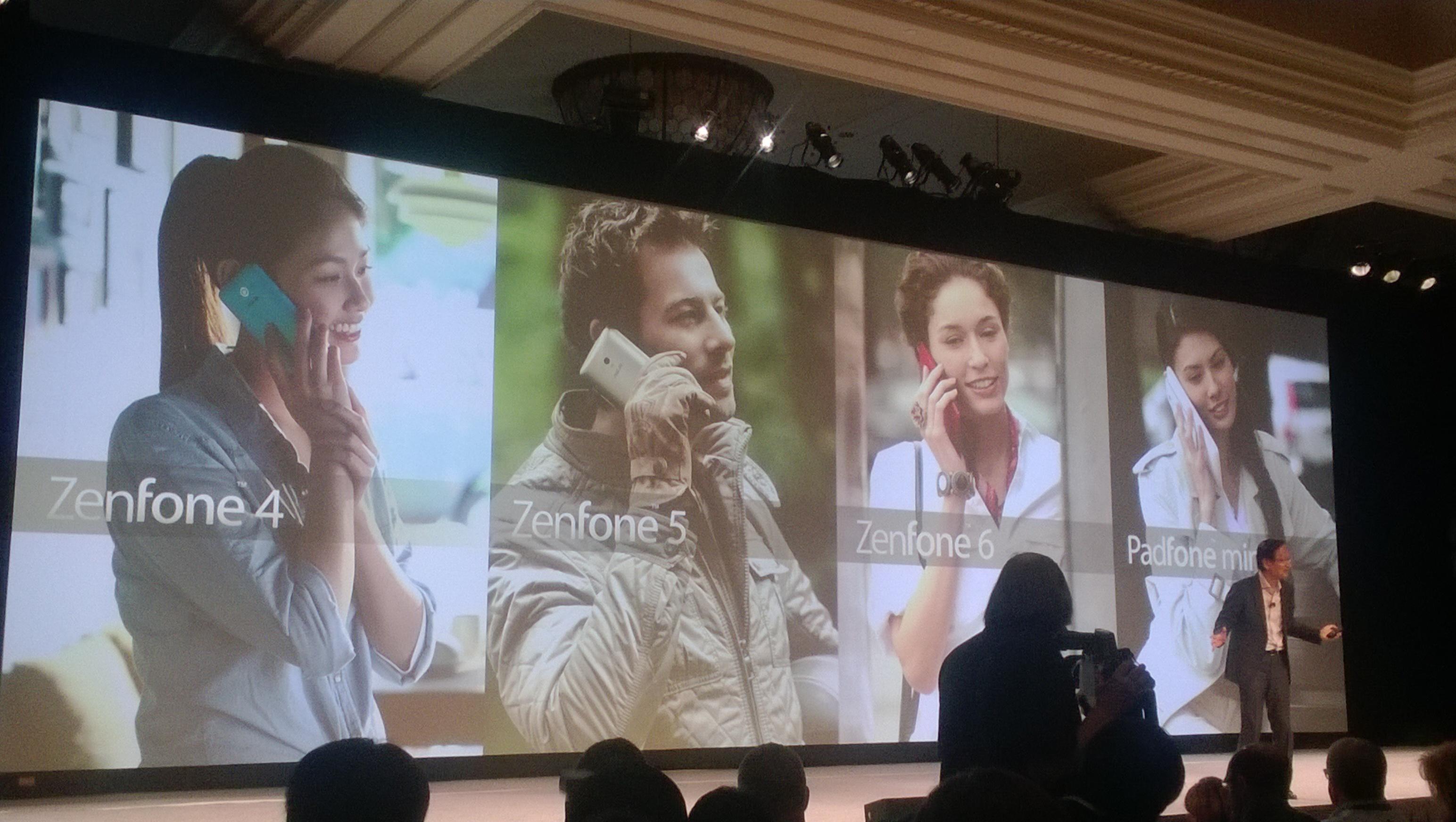 CES 2014: Sprawdziliśmy nowe, tanie smartfony Asusa z Intelem i hybrydę z dwoma systemami