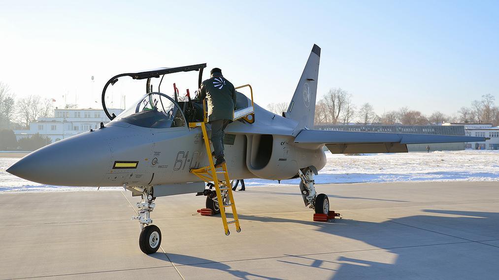 M-346 Master – na tych samolotach będą ćwiczyć polscy lotnicy