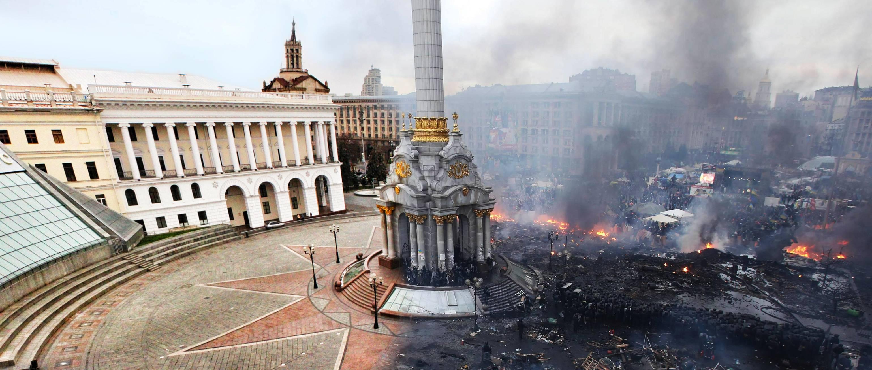 Wstrząsające zdjęcia walk w Kijowie zdradzają koszmar pracy fotoreportera