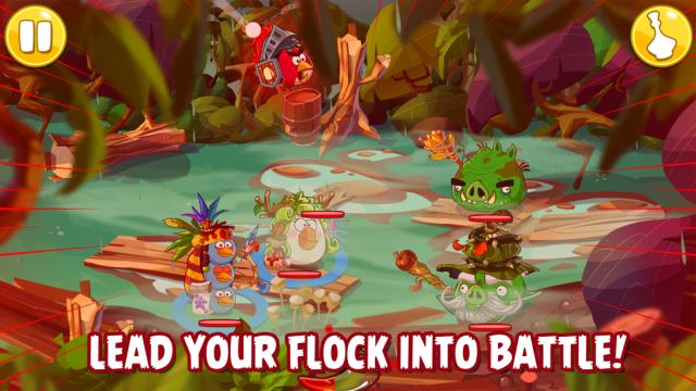 Krótka piłka: Tak wygląda gameplay z Angry Birds Epic. Zagrasz?
