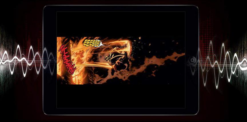 Superbohaterowie walczą z piratami, czyli Marvel dodaje do komiksów multimedia
