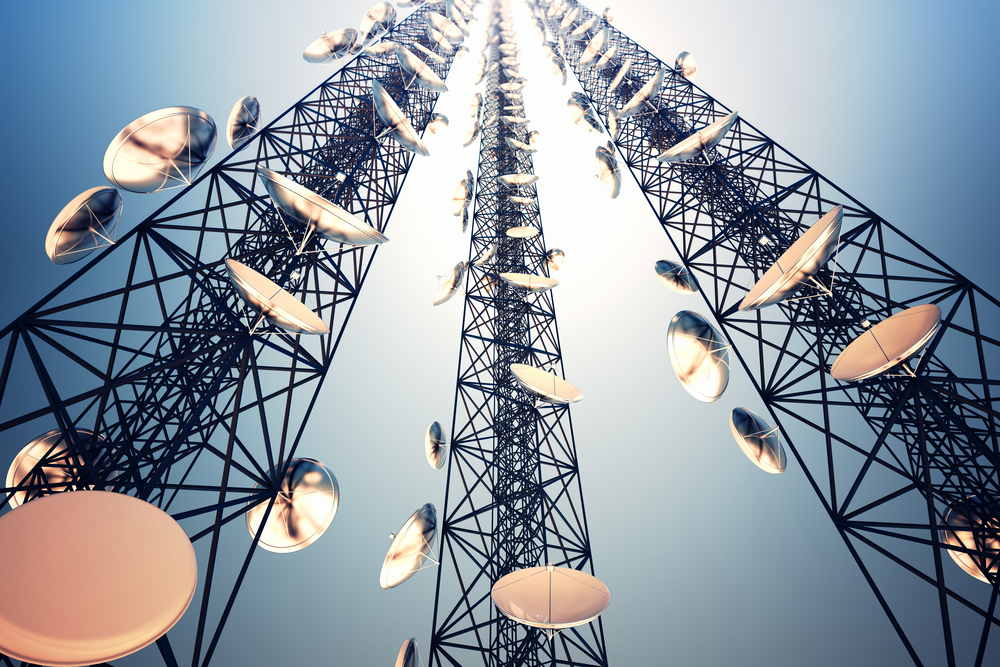 antena nadajnik zasieg bts internet lte