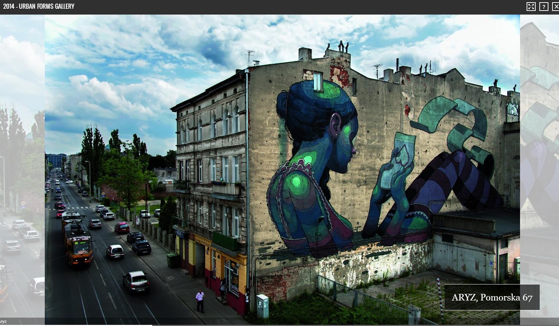 Z ulic do Internetu – Google prezentuje Street Art Project z polskim akcentem