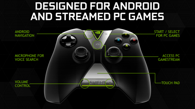 Nvidia Shield Controller 1