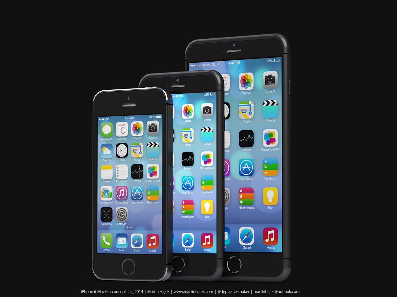 Krótka piłka: Phablet Apple na zdjęciach