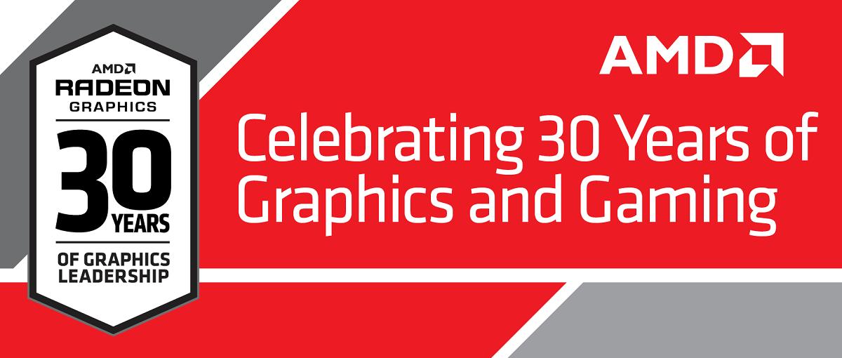 Konferencja AMD z okazji 30 lat na rynku kart graficznych! Liveblog
