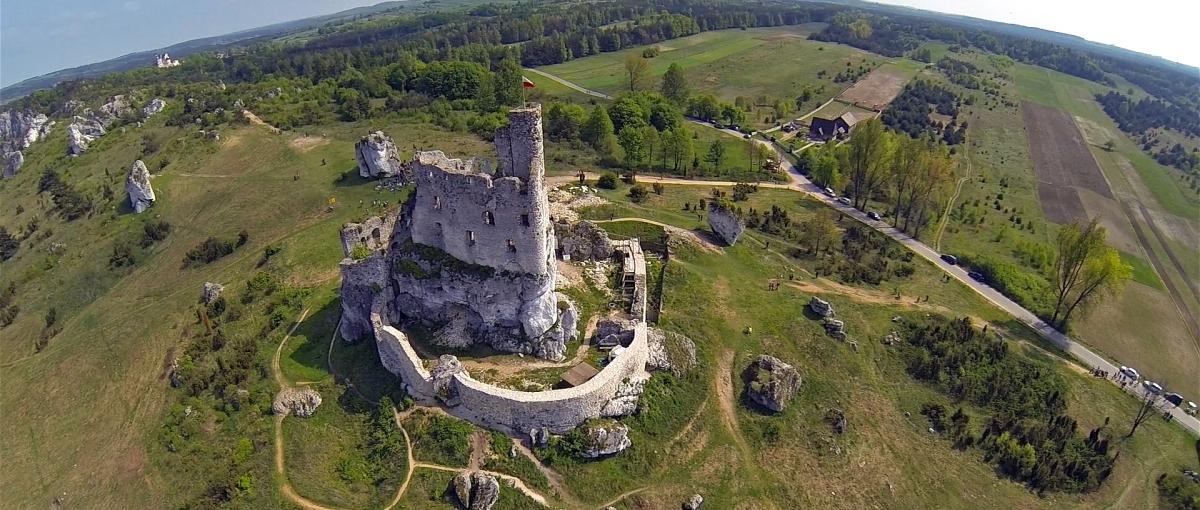 Oto Polska z drona – zobacz jak wygląda nasz kraj z lotu ptaka