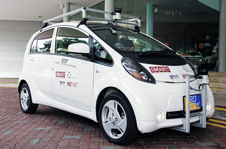 Oto Scot – samojeżdżący samochód, który w styczniu 2015 r. wyjedzie na ulice Singapuru