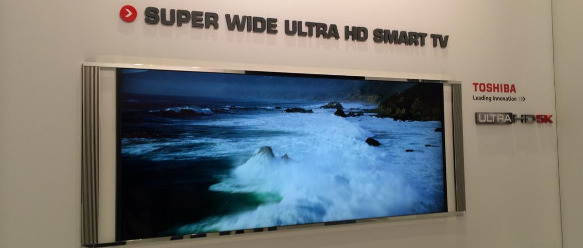 Ekrany ukryte w… lustrach proponuje Toshiba