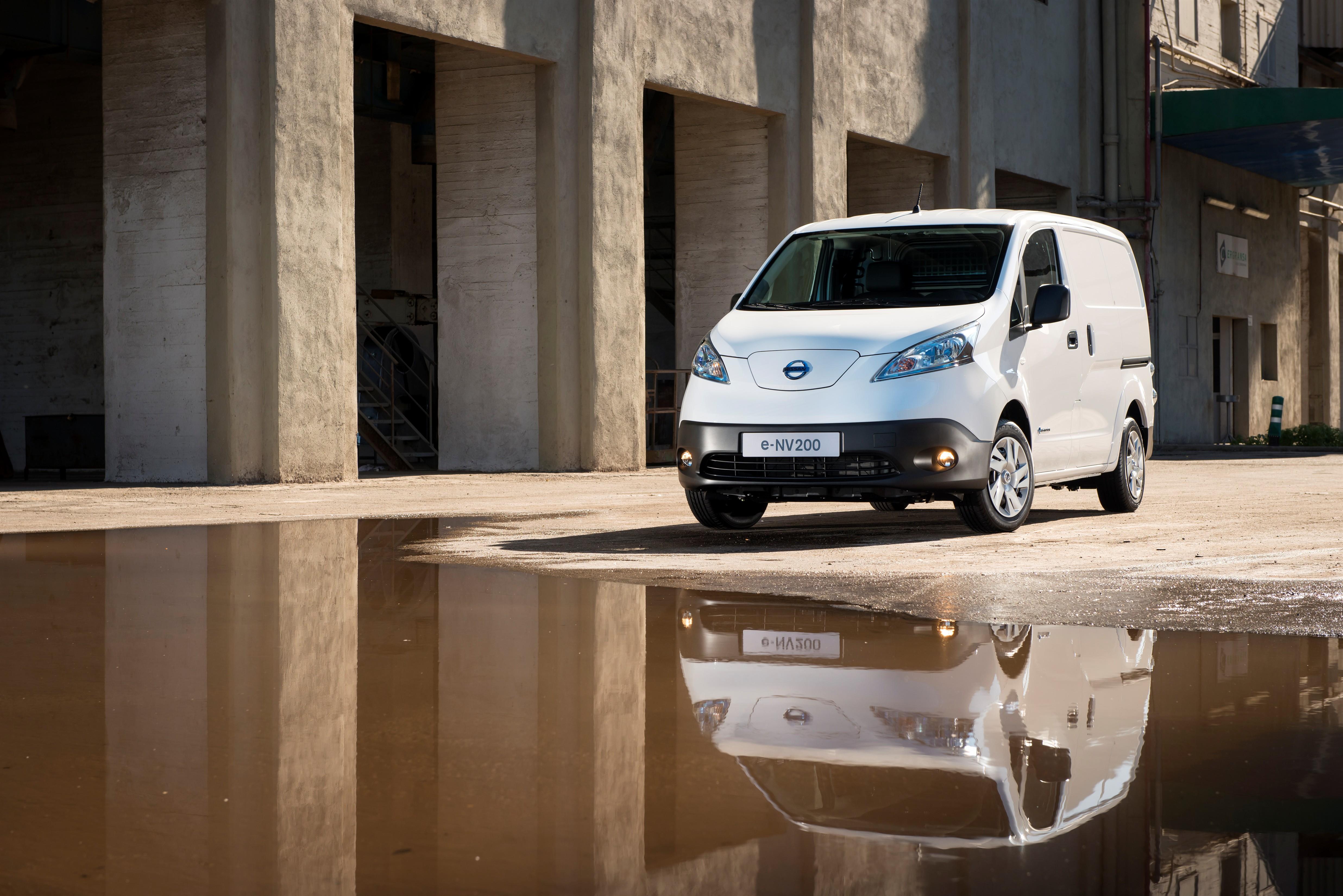 Elektryczna furgonetka – genialny pomysł, jeśli nie zważasz na koszty