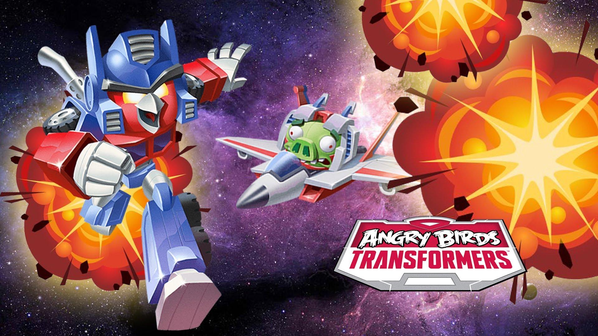 Pobierz Angry Birds Transformers i na własnej skórze przekonaj się, że z Rovio dzieje się coś bardzo złego
