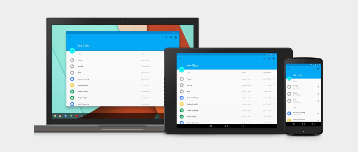 Nie, to nie jest Android Lollipop. Tak teraz wygląda Chrome OS