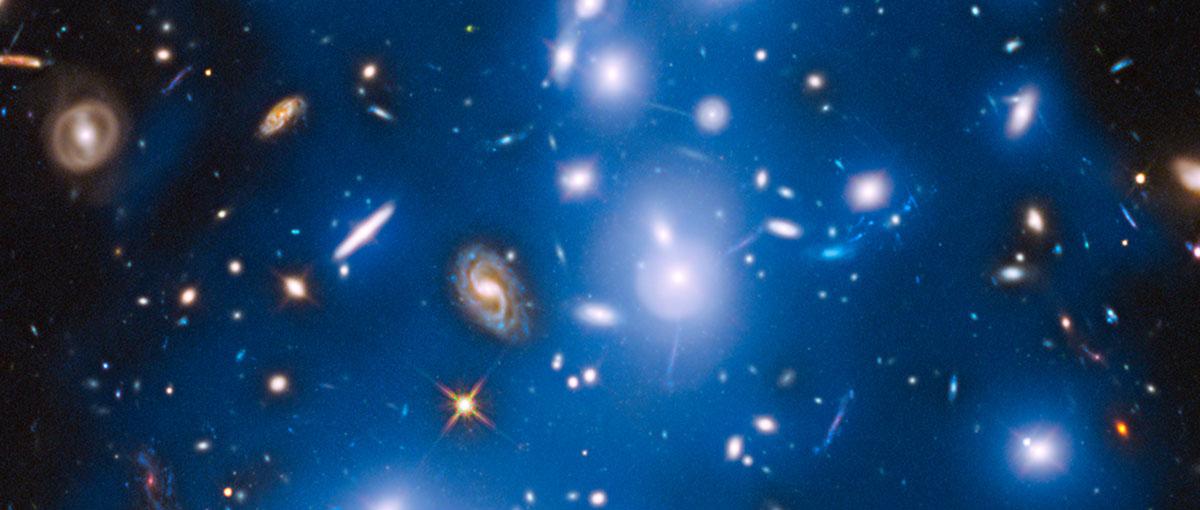 Galaktyki z tego zdjęcia mogą już nie istnieć od milionów lat