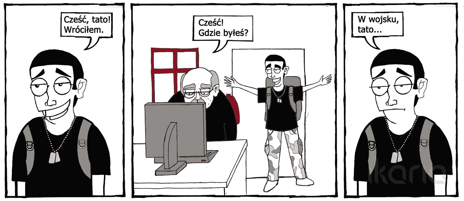 Komiks dnia #9: tymczasem w internecie…