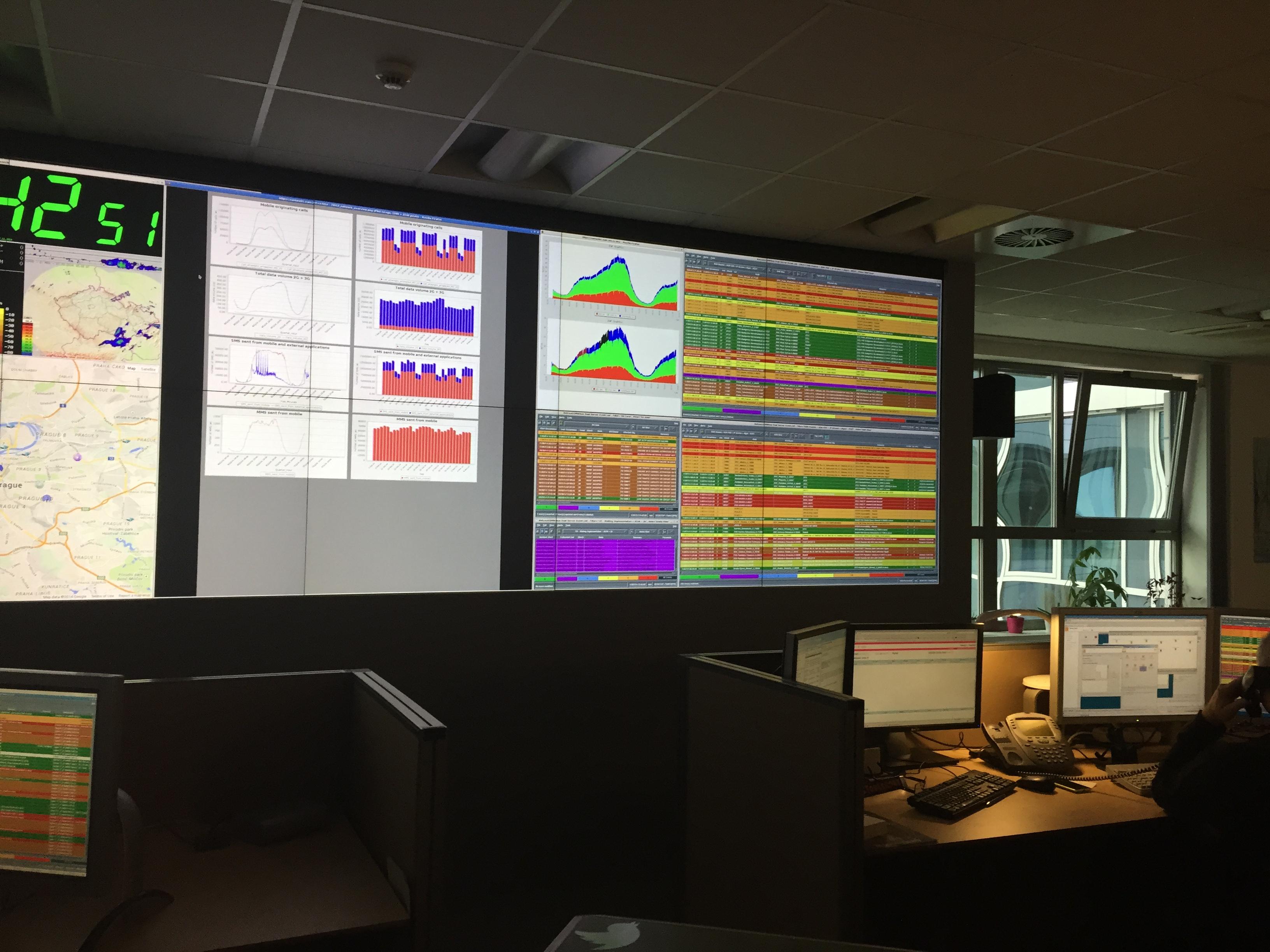 Koszmar operatora, czyli mapa problemów z siecią wielkości ściany. T-Mobile Network Monitoring Centre – relacja Spider's Web