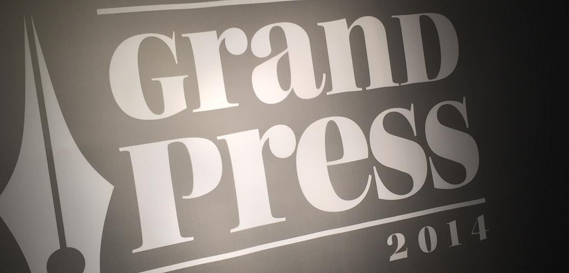 """Gala """"Grand Press 2014"""" uświadomiła mi jak wielkim skansenem są dziś tradycyjne media"""