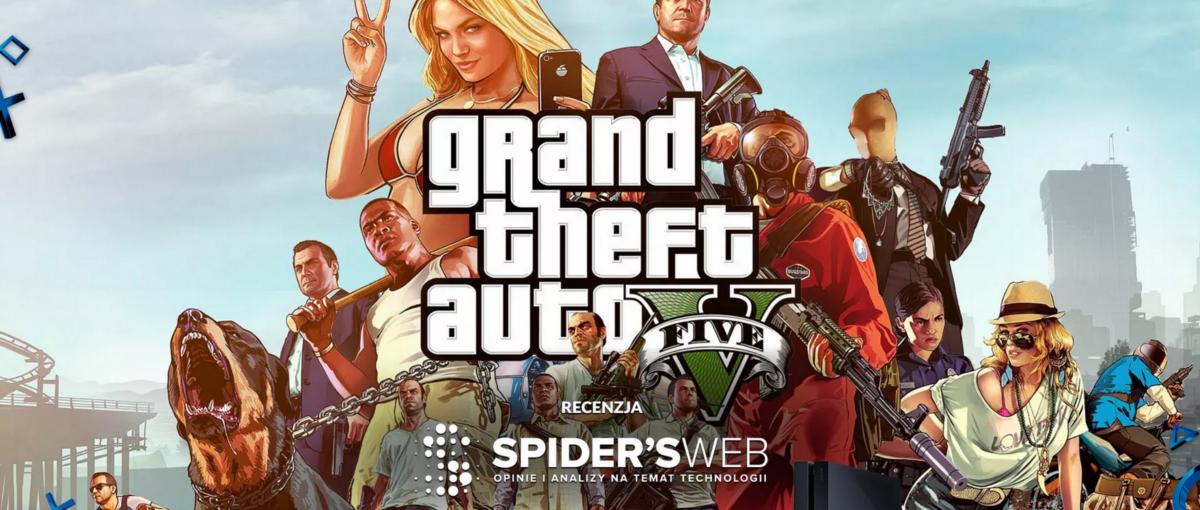 GTA V – recenzja Spider's Web