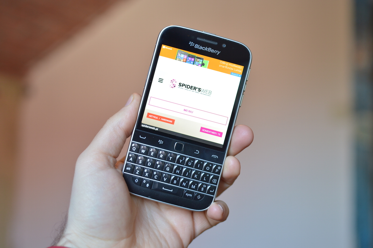 Już wiemy, po co BlackBerry domena AndroidSecured