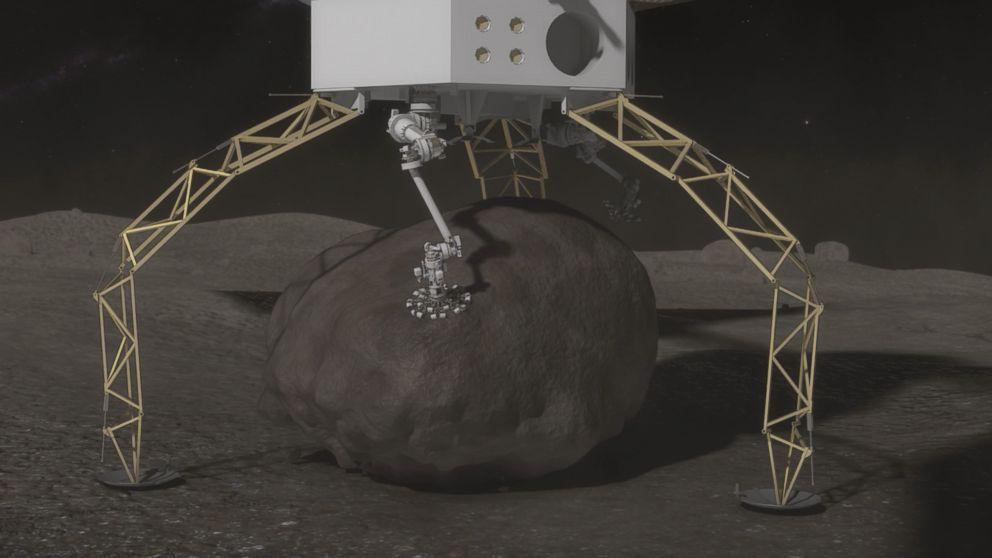Ten statek kosmiczny ma jedno zadanie – ukraść kawałek planetoidy