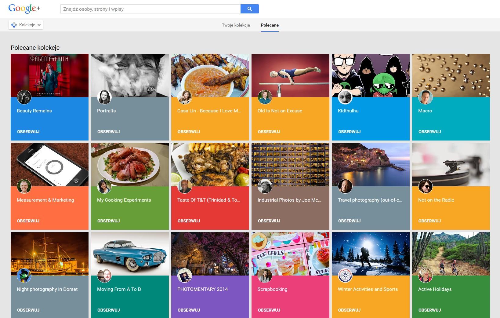 Google chce, żebyś dał Google+ drugą szansę. Oto czym próbuje nas przekonać