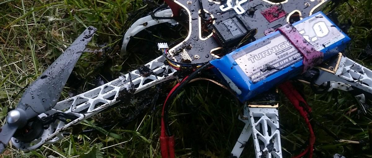 Tak wygląda śmierć drona
