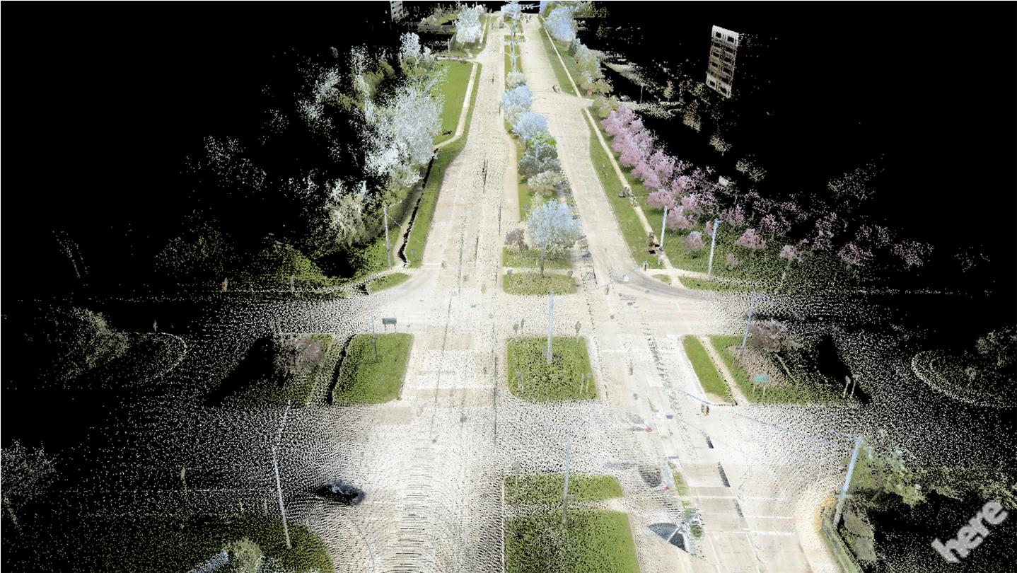 Jakaś dziwna ta mapa, czyli jak autonomiczny samochód będzie widział świat oczami Here