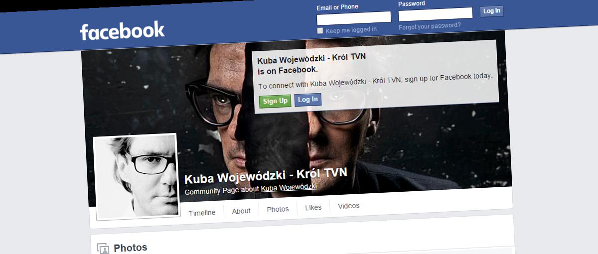 Czyżby Kuba Wojewódzki miał dość problemów z Facebookiem? Showman zawitał na Twittera