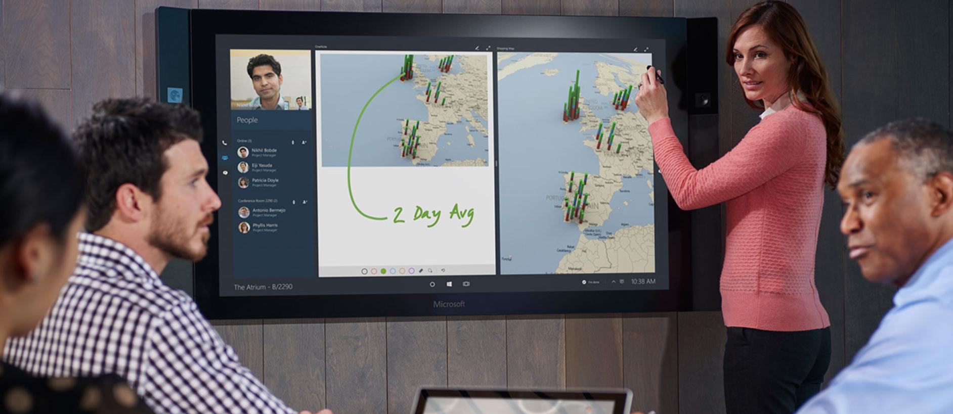 Oto Microsoft Surface Hub, czyli komputer w cenie nerki. Albo i dwóch