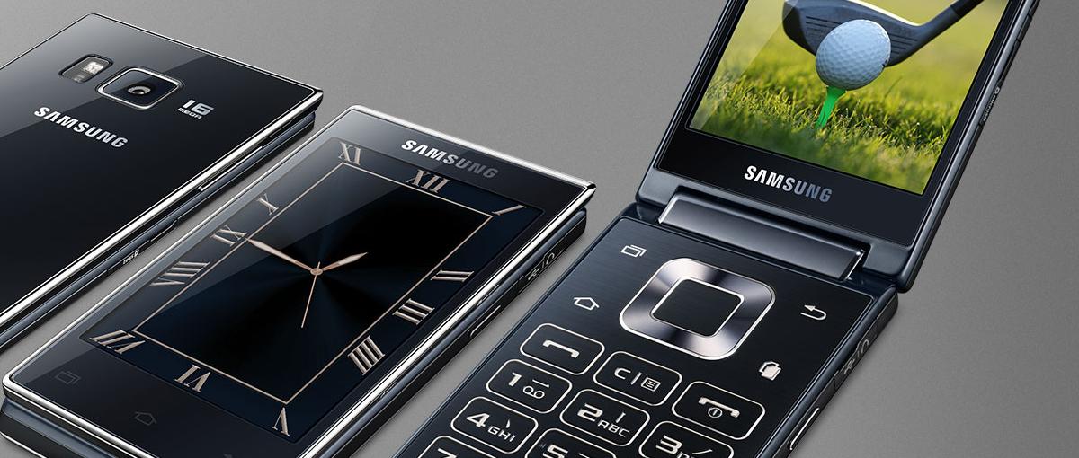 Oto świetny Samsung SM-G9198, czyli telefon z klapką, który chętnie włożyłbym do kieszeni