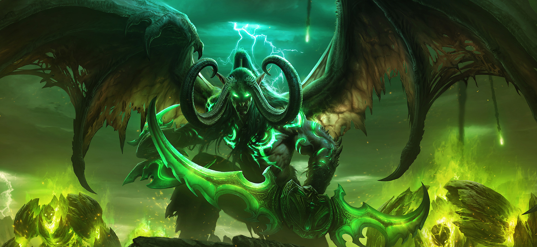 W nowym dodatku do World Of Warcraft zmierzymy się ponownie z Płonącym Legionem